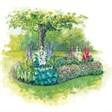 База отдыха Радуга - иконка «сад» в Белинском